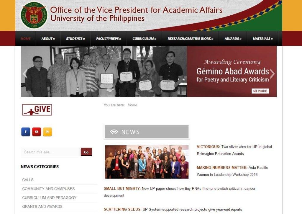 OVPAA website