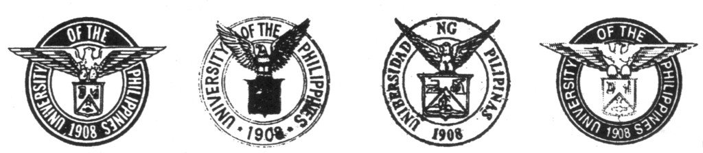 Unofficial versions of the UP seal