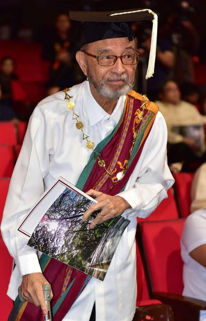 Former UP President Jose Abueva (Photo by Bong Arboleda, UP MPRO)