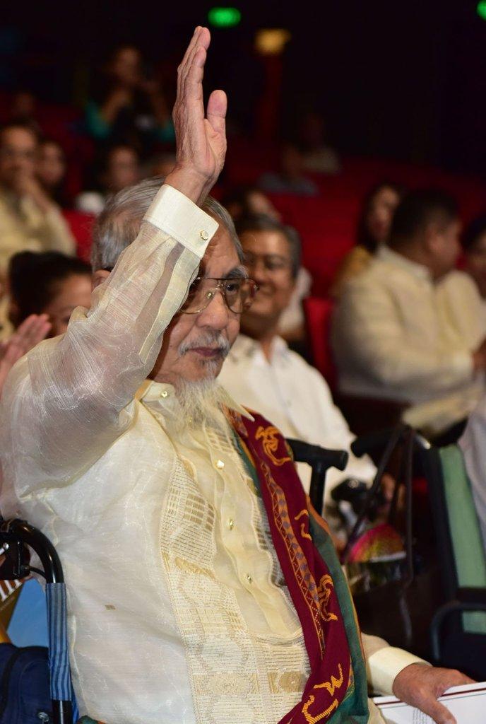 Former UP President Francisco Nemenzo (Photo by Bong Arboleda, UP MPRO)