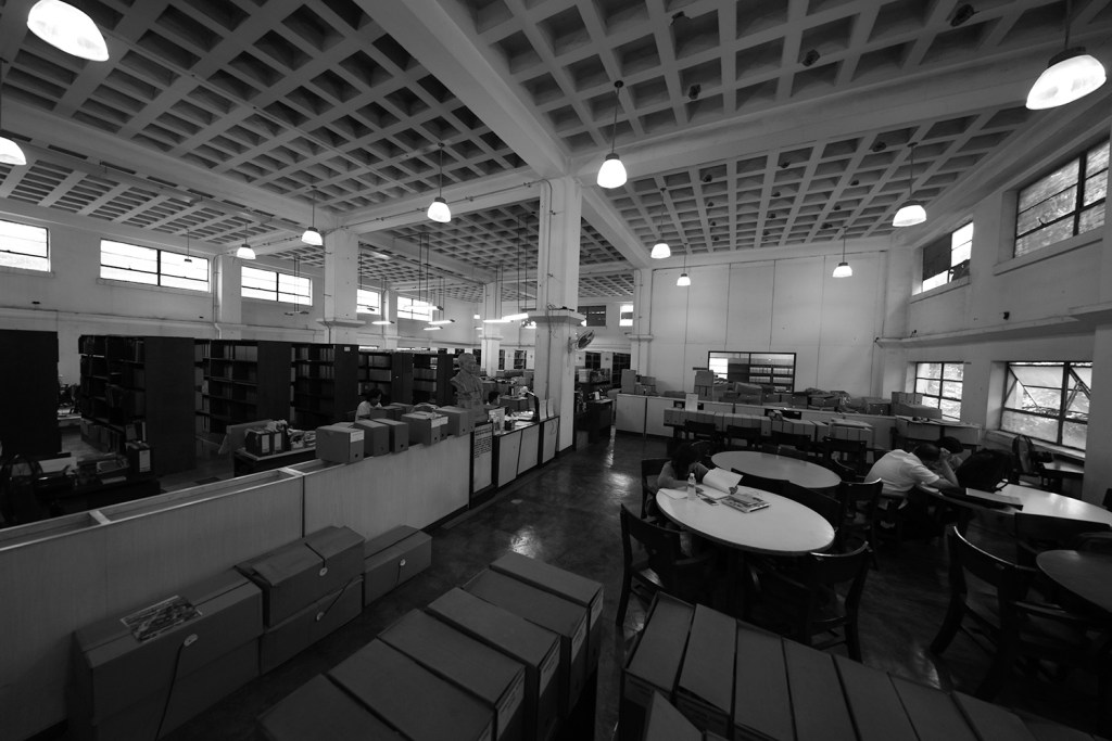 The University Archives section usually visited by researchers. (Photo by Misael Bacani, UP MPRO)