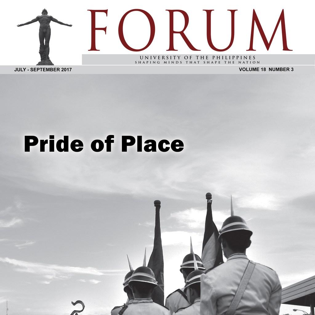 UP Forum_Pride of Place JulySeptember2017