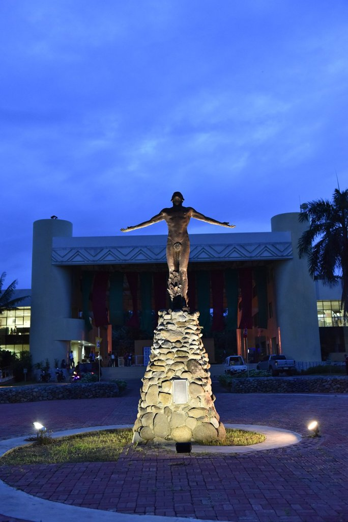UP Mindanao's Oblation in the Oblation Plaza. (Photo by Misael Bacani, UP MPRO)