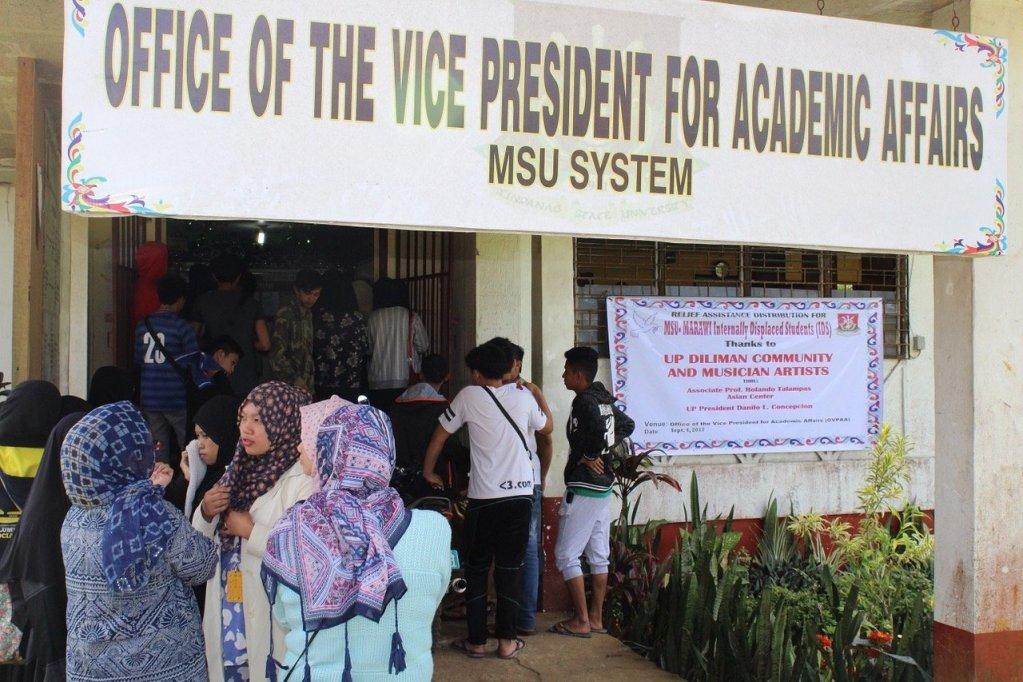 UP lends a hand to MSU-Marawi