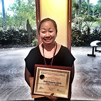 Maria Margarita R. Lavides, an alumna of the UP National College of Public Administration and Governance (NCPAG), bagged the Best Paper Award during the First International Conference on Multidisciplinary Filipino Studies at the University of Hawaiʻi (UH) at Hilo on 27-28 October 2017.
