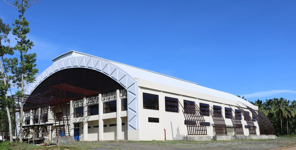 The UP-Mindanao Human Kinetics Building and Training Gym located in the Davao City-UP Sports Complex in Mintal, Davao City