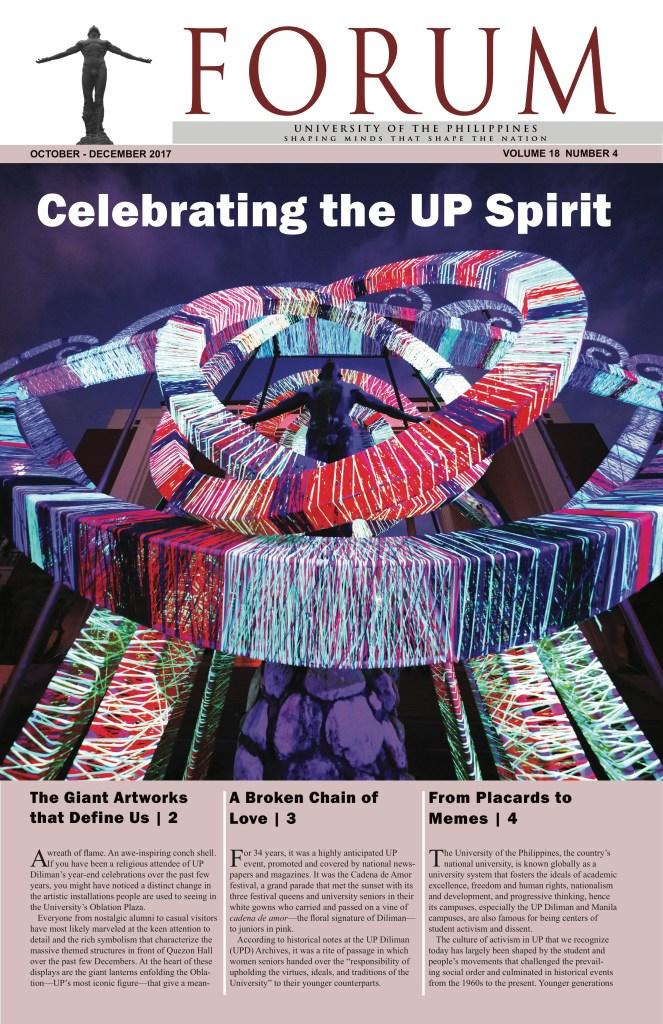 Celebrating the UP Spirit