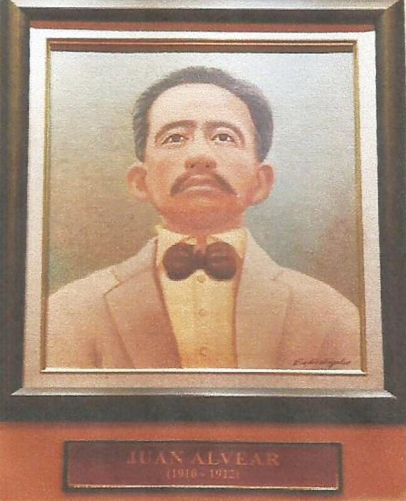 Oil portrait found at the Pangasinan Governors Gallery, Capitol Building, Lingayen, Pangasinan. (Photo from Ms. Joy Napolitano, Provincial Tourism and Cultural Affairs Office, Pangasinan)