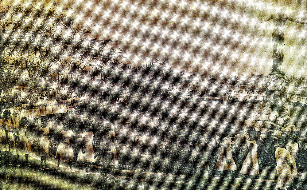 a photo by Max Orate published in the 1963 issue of the Manila Times