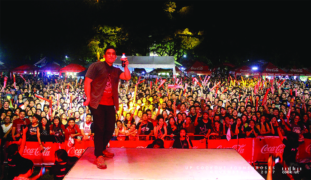 The #UPCookout2017 crowd last November 10--over 3,700 strong