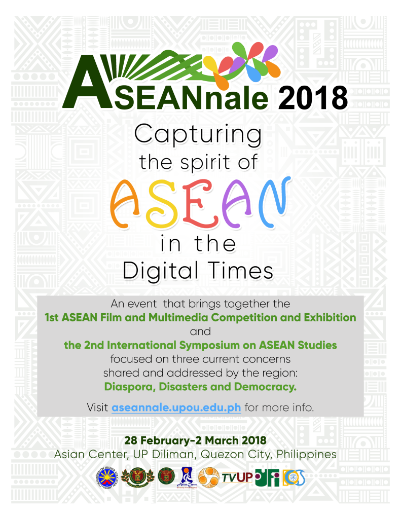1st Film and Multimedia Competition and Exhibition and the 2nd International Symposium on ASEAN Studies (2nd ISAS)