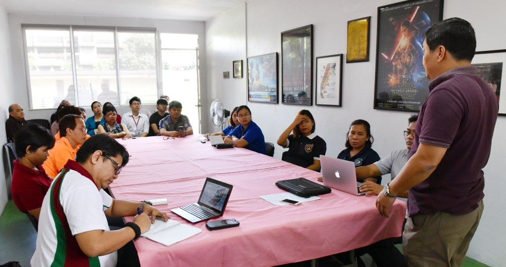 Mayon Team Coordination Meeting (Photo by Bong Arboleda, UP MPRO)