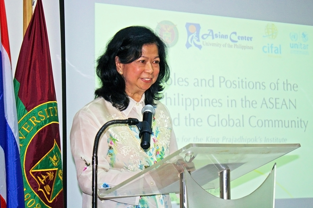 UP hosts forum on Philippines' role in ASEAN