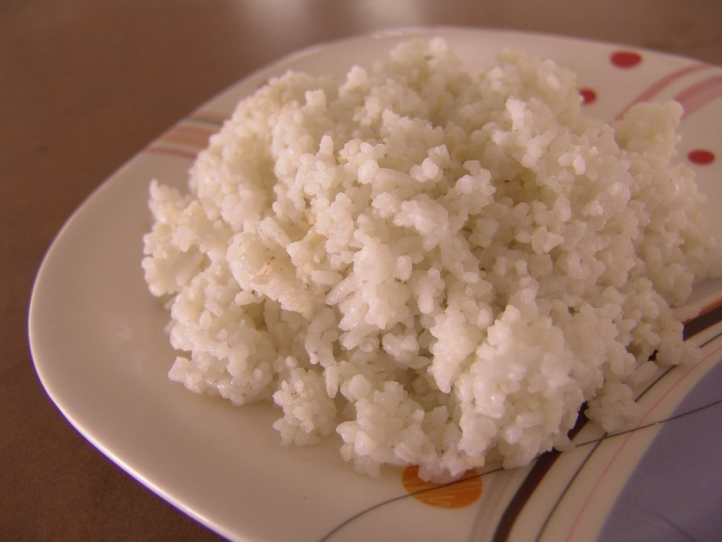 Cooked 70:30 rice and white corn combination (Photo credit: Josefina Dizon et al.)