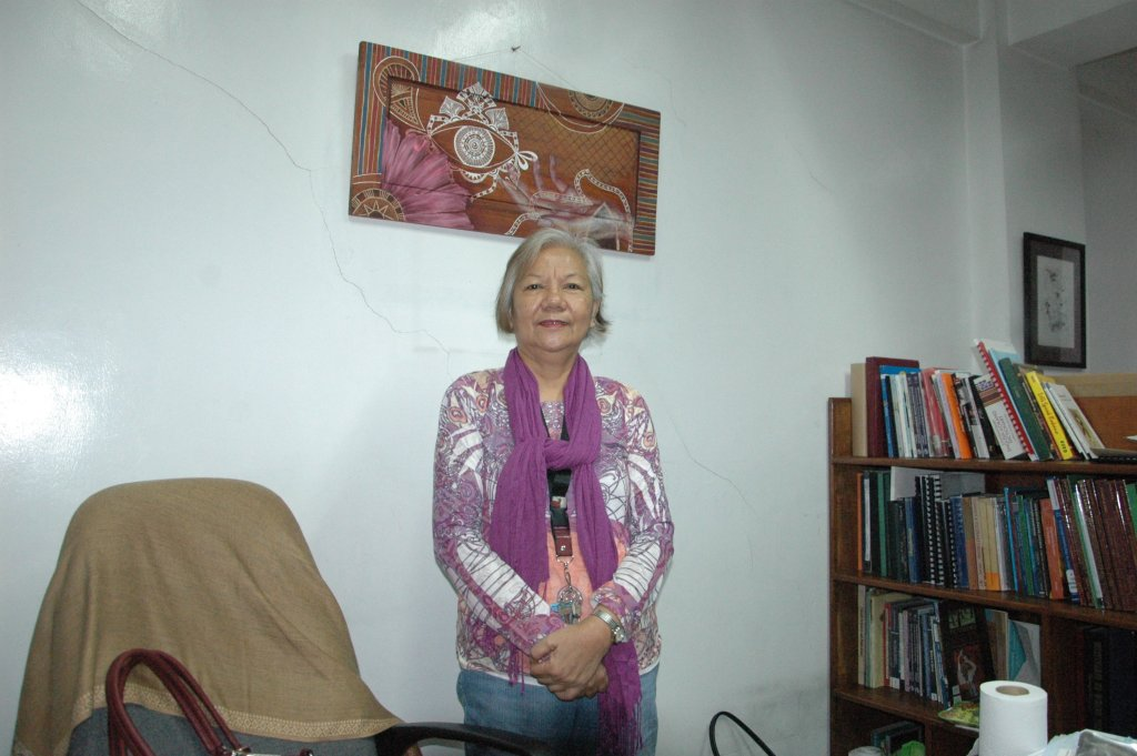 Dr. Elizabeth A. Calinawagan, professor of Filipino and Dean of the College of Arts and Communication, UP Baguio.
