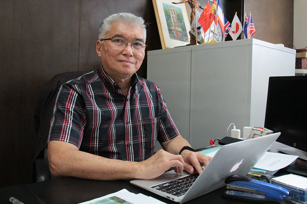 UP OIL Director and Assistant Vice President for Academic Affairs Gil S. Jacinto. (Photo by Jun Madrid, UP MPRO)