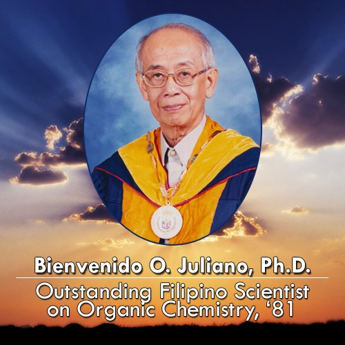 Bienvenido O. Juliano, Ph.D., Outstanding Filipino Scientist on Organic Chemistry, 81