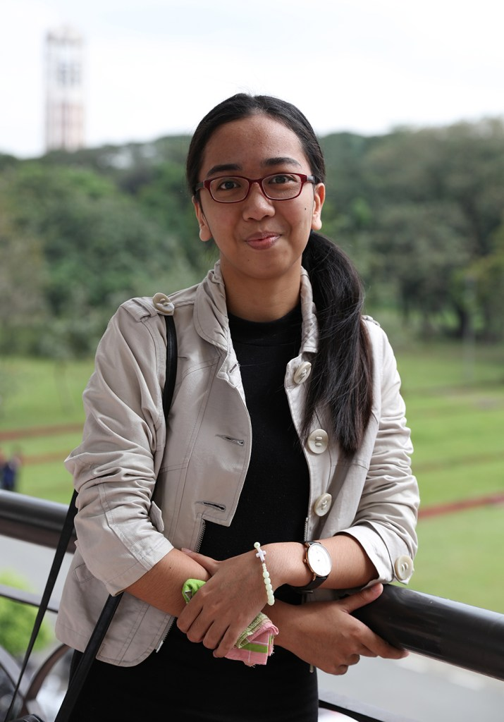BS Agricultural Chemistry student and University of Oviedo exchange student Michelle Danne Desuyo. (Photo by El Bacani, UP MPRO)