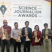 UP Science Journalism Awards 2018