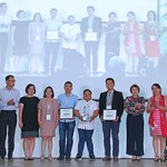 The 2nd ISAS Best Paper winner and the honorable mentions (Photo by Misael Bacani, UP MPRO)