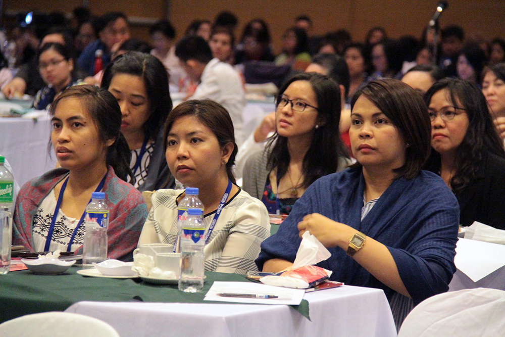 Attended by about 400 participants from colleges and universities, government and non-government organizations, and corporations (Photo by Jun Madrid, UP MPRO)