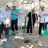 UP breaks new ground with 'smart farm'