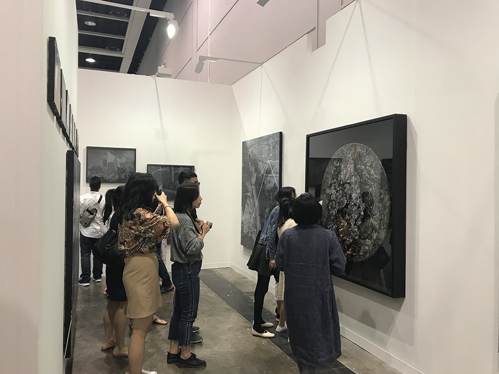 Musings at the Art Basel Hong Kong (Photo courtesy of Artinformal)