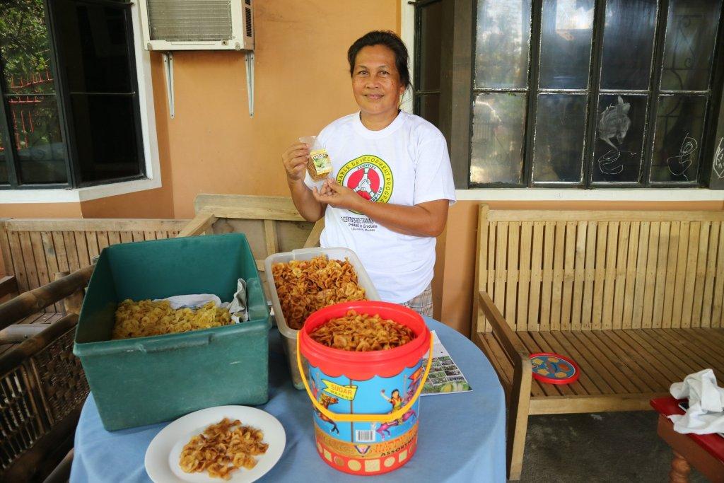 Maria Lina Raposa, farmer-scientist from Tampakan, South Cotabato. (Photo courtesy of Augustus Franco Jamias, FSTP Development Communicator)