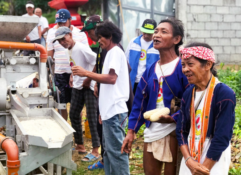 Members of Mansalay Corn-based Farmer-Scientists Association (MCFSA) able to learn and apply low-cost, effective, and environmentally-safe pest management, as well as adopt different organic farming techniques. (Photo courtesy of Augustus Franco Jamias, FSTP Development Communicator)