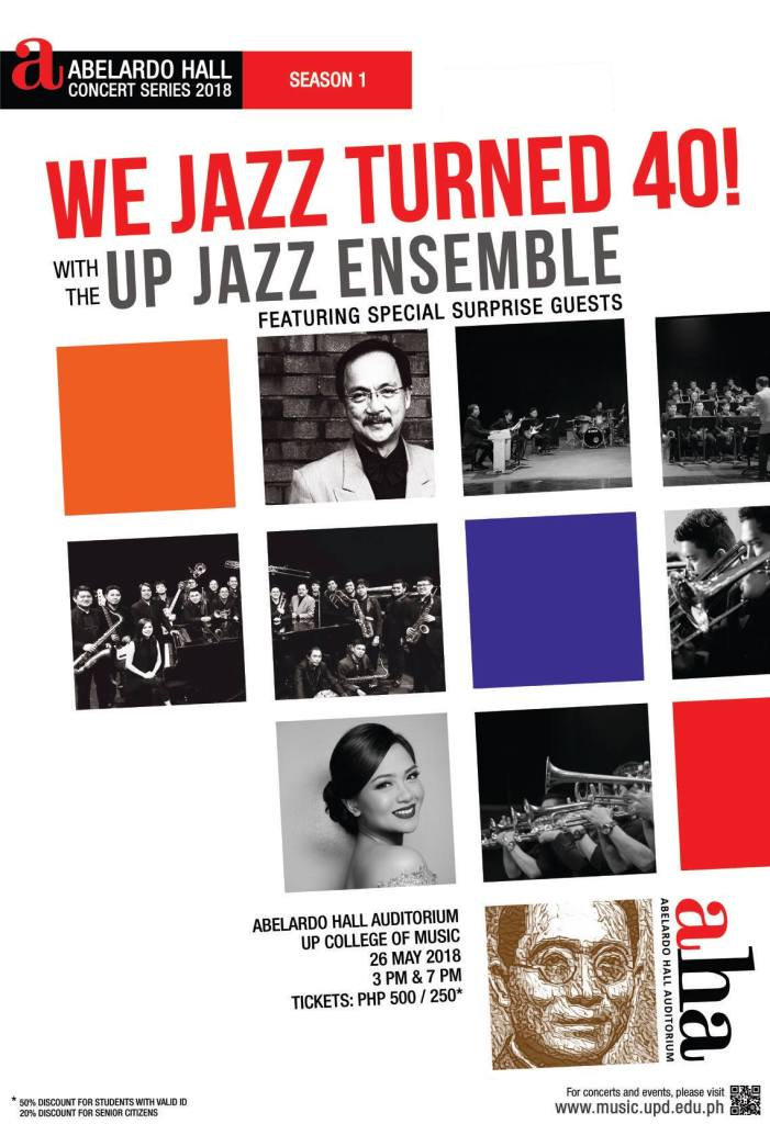 UP Jazz Ensemble turns 40