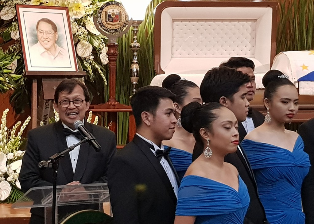UP Singing Ambassadors founder and conductor Edgardo Manguiat reveals SEJA was a supporter of the group, making it a staple performer in many different occasions. (Photo by Arlyn Romualdo, UP MPRO)