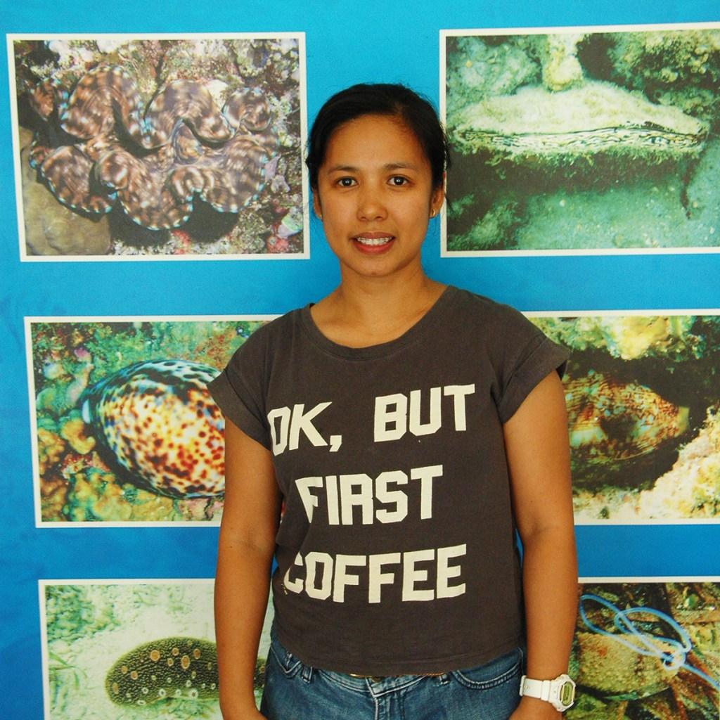 Charina Caalim (Photo by Bong Arboleda, UP MPRO)