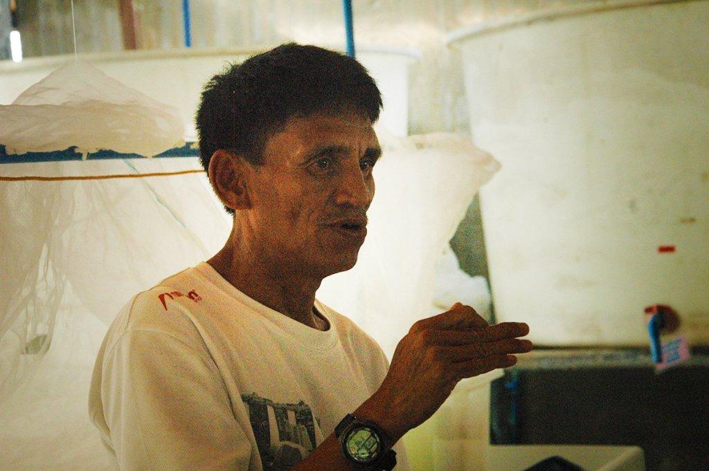 Renato Adolfo (Photo by Bong Arboleda, UP MPRO)