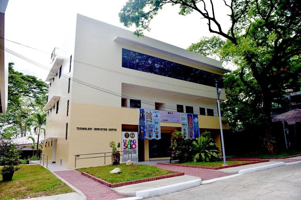 The newly-inaugurated Technology Innovation Center of UP Cebu. (Photo by Bong Arboleda, UP MPRO)