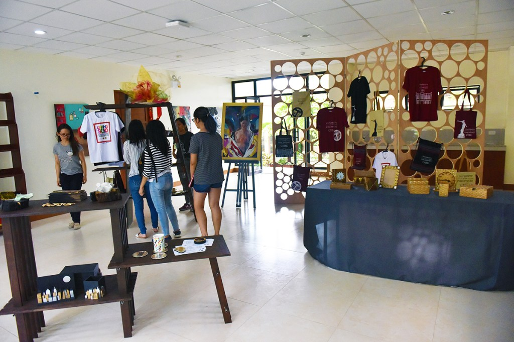 The UP Store on the ground floor of the new Technology Innovation Center of UP Cebu. (Photo by Bong Arboleda, UP MPRO)