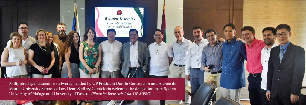 Spanish university firms up ties with UP for law education