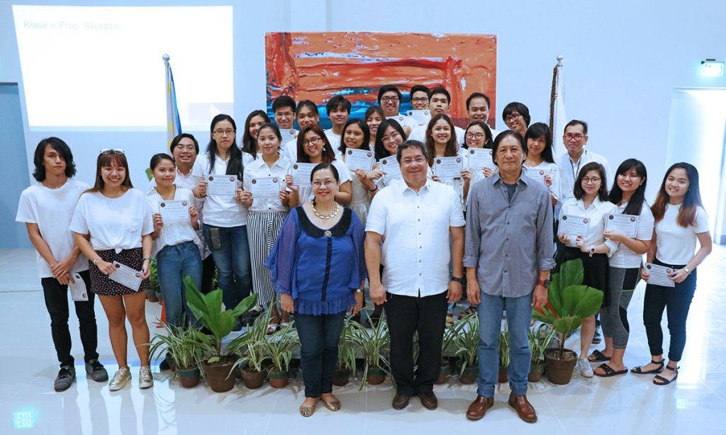 New members of the National Service Reserve Corps (NSRC) of the Philippines. (Photo by Misael Bacani, UP MPRO)