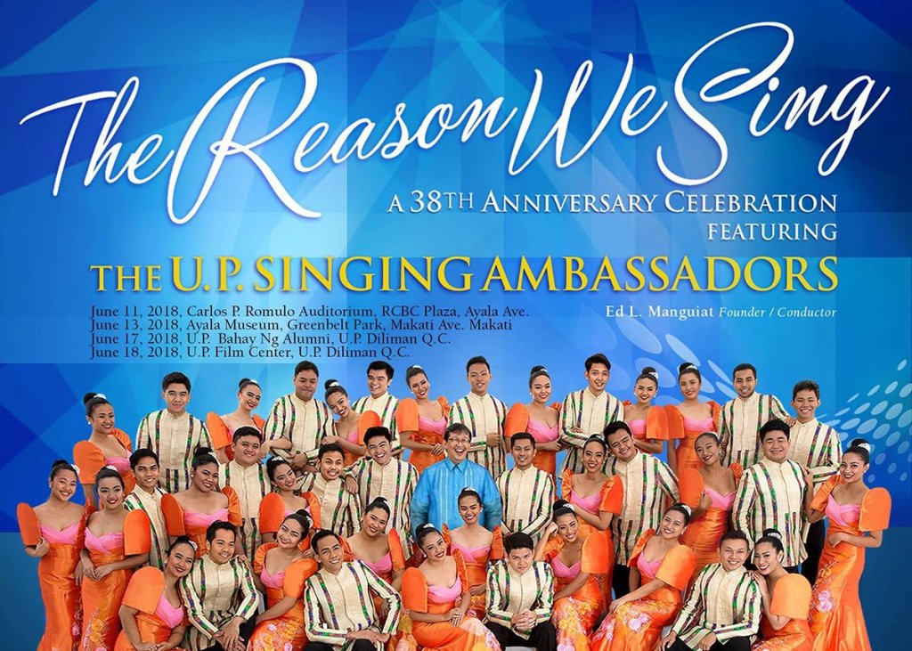 """The Reason We Sing."""