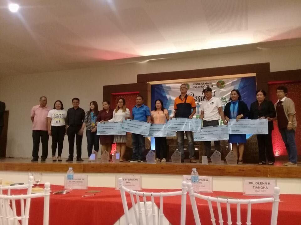 Twelve barangays of Del Carmen were awarded by the Department of Health-Caraga Region as Certified Zero Open Defecation (ZOD) during the 2018 Sanitation Forum in Butuan City. (Photo courtesy of the Local Government of Del Carmen, Surigao del Norte)