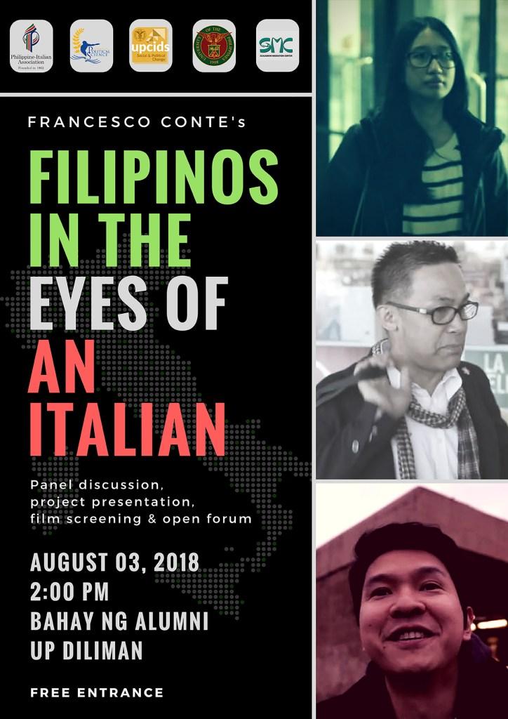 Filipinos in the eyes of an italian