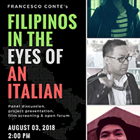 Filipinos in the eyes of an italian