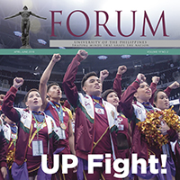 OFF THE PRESS: The UP Forum April-June 2018 Vol. 19 No. 2 issue is now available online