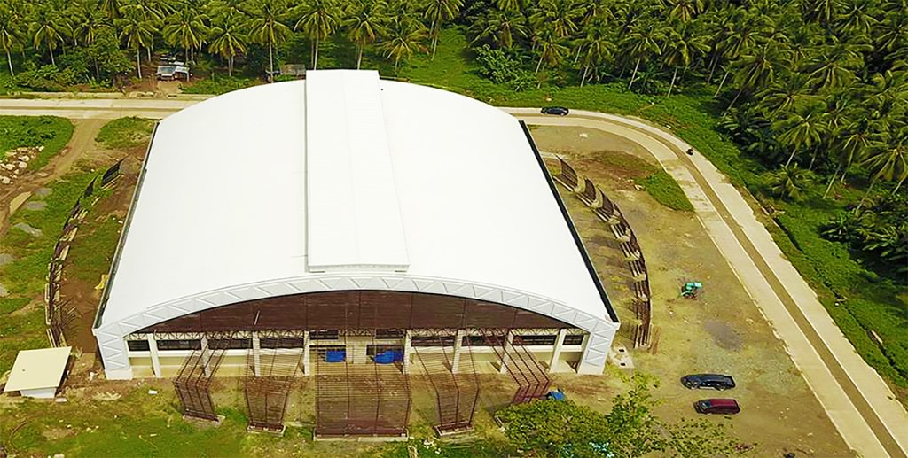 The Davao City-UP Sports Complex Training Gym, which is now being used by UP Mindanao PE classes. (Photo by UPMin CPDO)