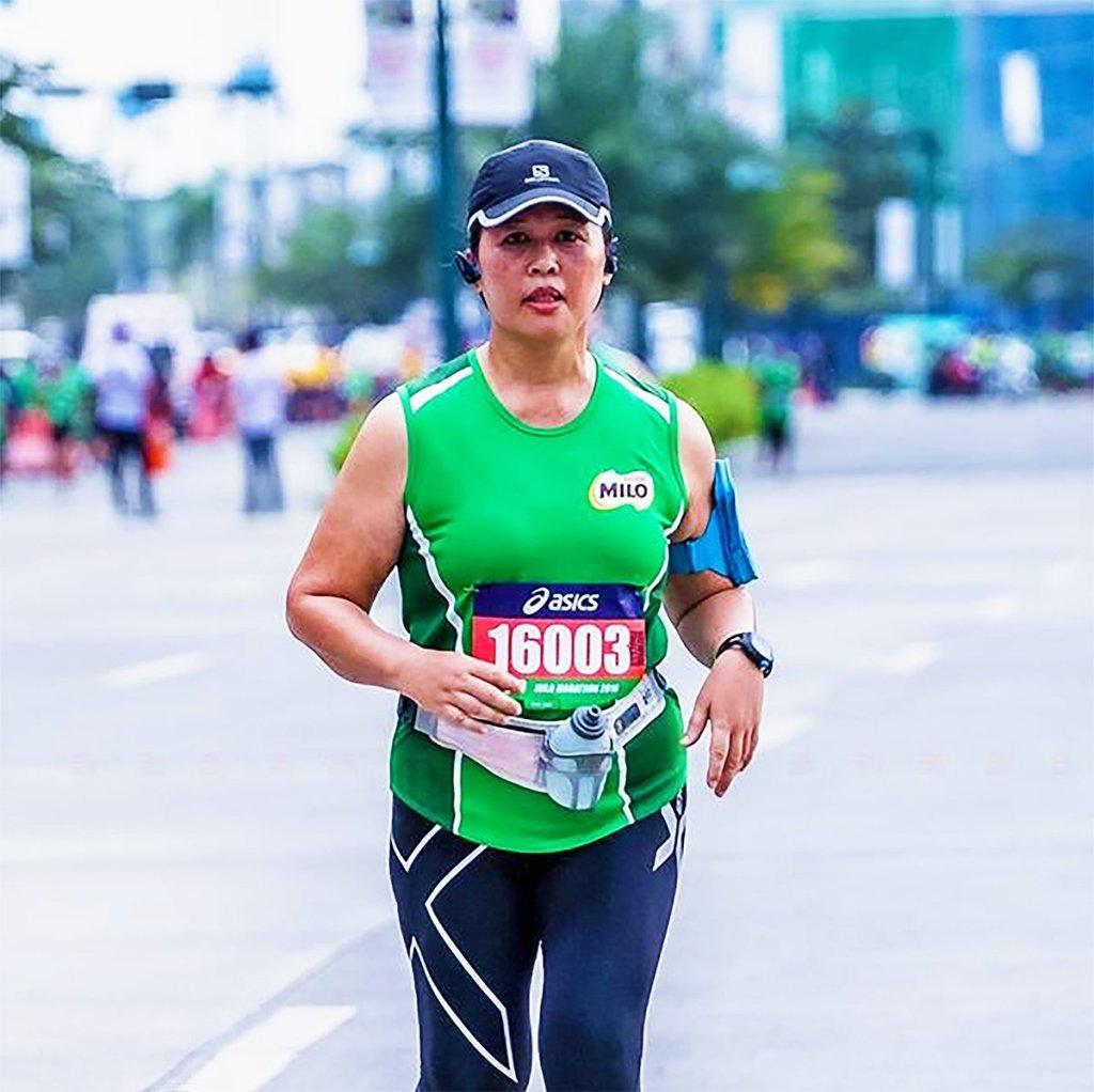 During the 40th National Milo Marathon Finals, December 2016.
