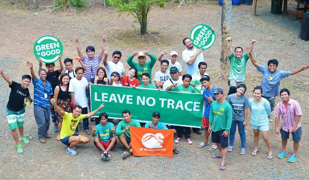 Always practice the Leave No Trace Principle