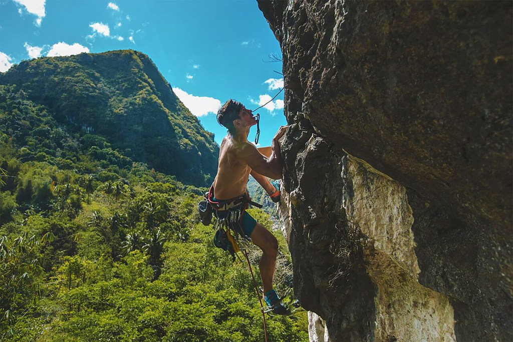 Aside from hiking, UP Mountaineers members also venture into rock climbing for a different kind of thrill. (Photo from Bram Barrameda)