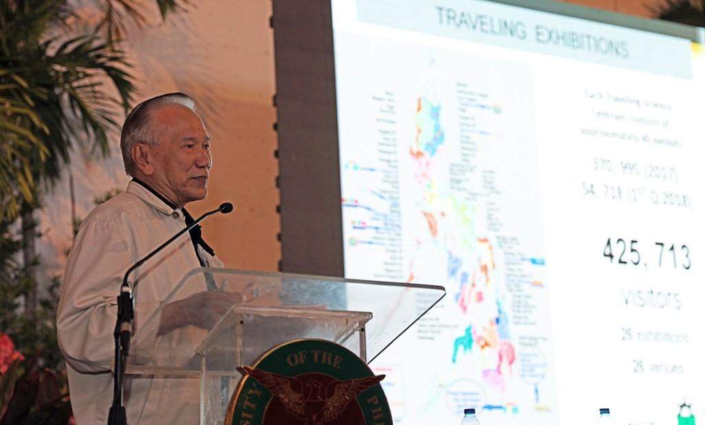 Engr. Filemon Berba Jr., 2018 UPAA Lifetime Achievement Awardee (Photo by Misael Bacani, UP MPRO)