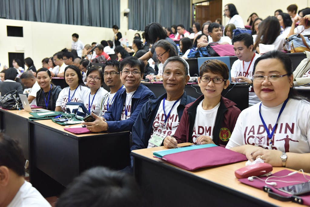 Conference participants await the presentations (Photo by Bong Arboleda, UP MPRO)