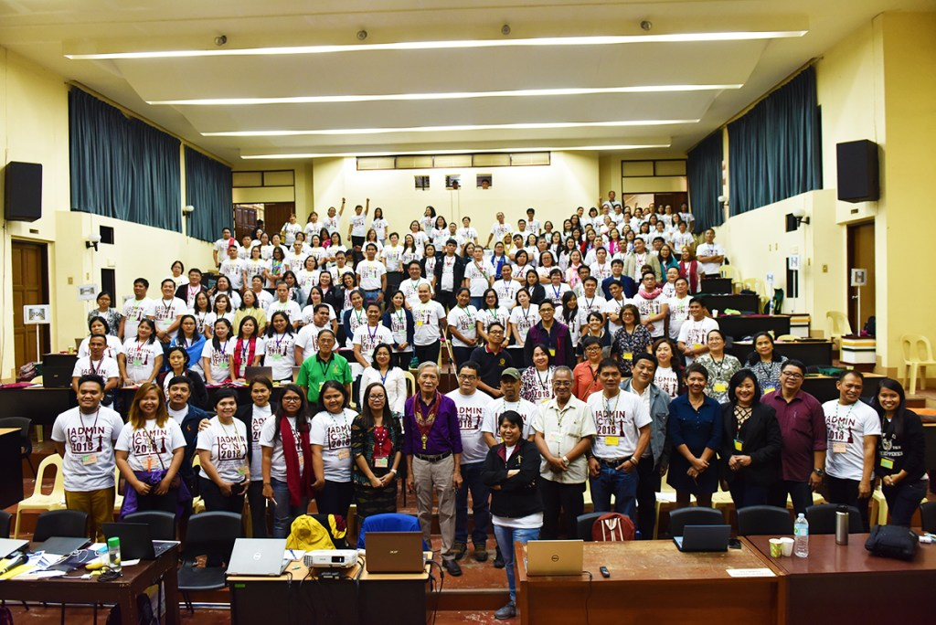 The conference participants with Rep. Satur Ocampo. (Photo by Bong Arboleda, UP MPRO)