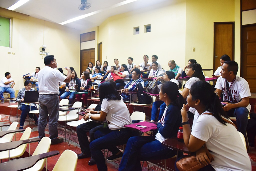 Breakout workshop sessions (Photo by Bong Arboleda, UP MPRO)